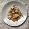 【簡単レシピ】りんごのココナッツオイル焼き