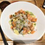 【簡単レシピ】アボガドサーモン丼の作り方